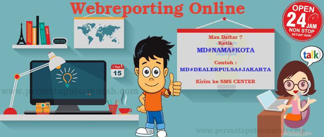 webreport permata pulsa murah online