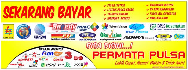 Download spanduk jual pulsa murah ppob